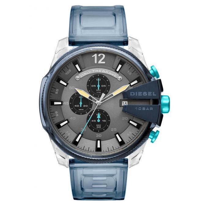 montre diesel montres dz4487 montre acier polyu thane bleu homme sur bijourama montre homme. Black Bedroom Furniture Sets. Home Design Ideas