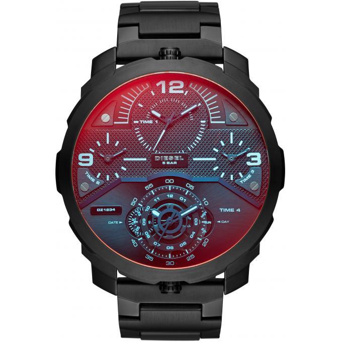montre diesel dz7362 montre noire acier homme sur bijourama n 1 de la montre homme femme et. Black Bedroom Furniture Sets. Home Design Ideas