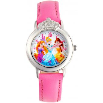 Montre Disney W001084 - Montre Rose Cendrillon Fille
