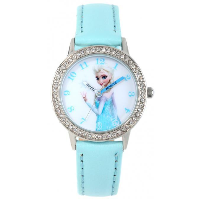 Montre Disney W002002 - Montre Bleue Elsa Fille