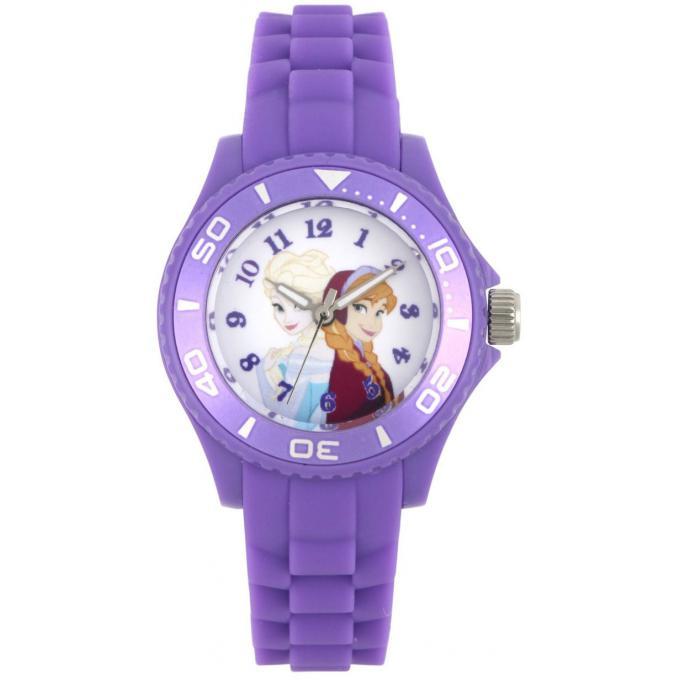 Promo : Montre Disney W002490 - Montre Elsa et Anna Violette Fille