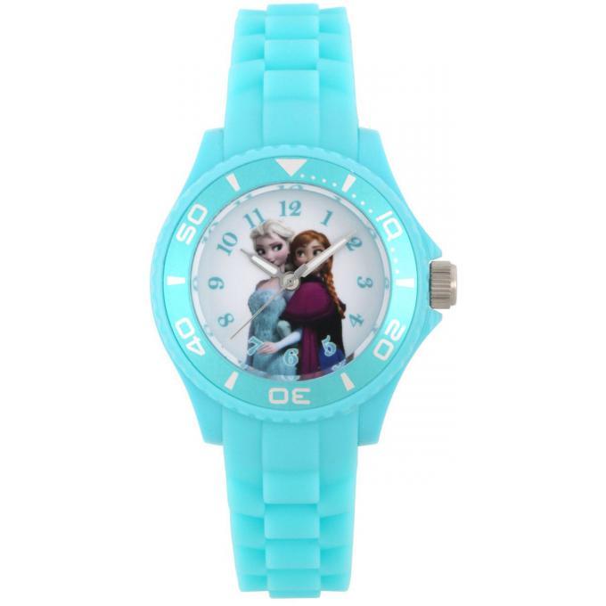 Promo : Montre Disney W002494 - Montre Elsa et Anna Bleue Enfant