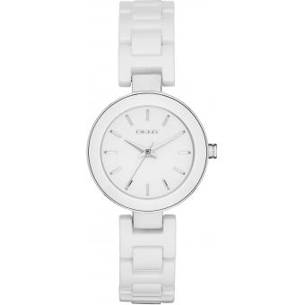 Montre Dkny NY2354 - Montre Ronde Blanche Femme