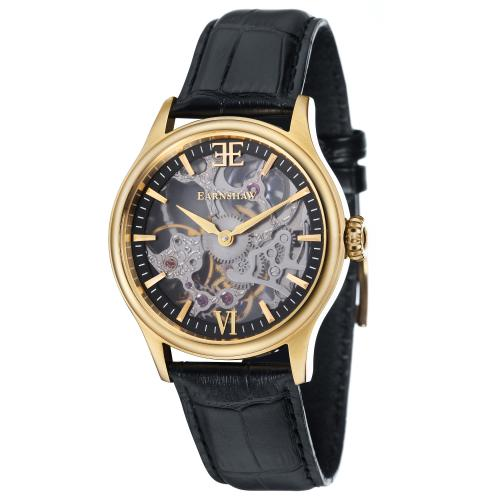 Earnshaw - Montre Earnshaw BAUER SHADOW ES-8061-03 - Montre Homme - Montre Automatique Homme