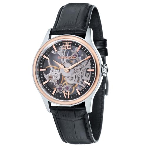 Earnshaw - Montre Earnshaw BAUER SHADOW ES-8061-07 - Montre Homme - Montre Automatique Homme