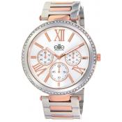 Elite - Montre Elite E54794-304 - Montre Femme Or Rose