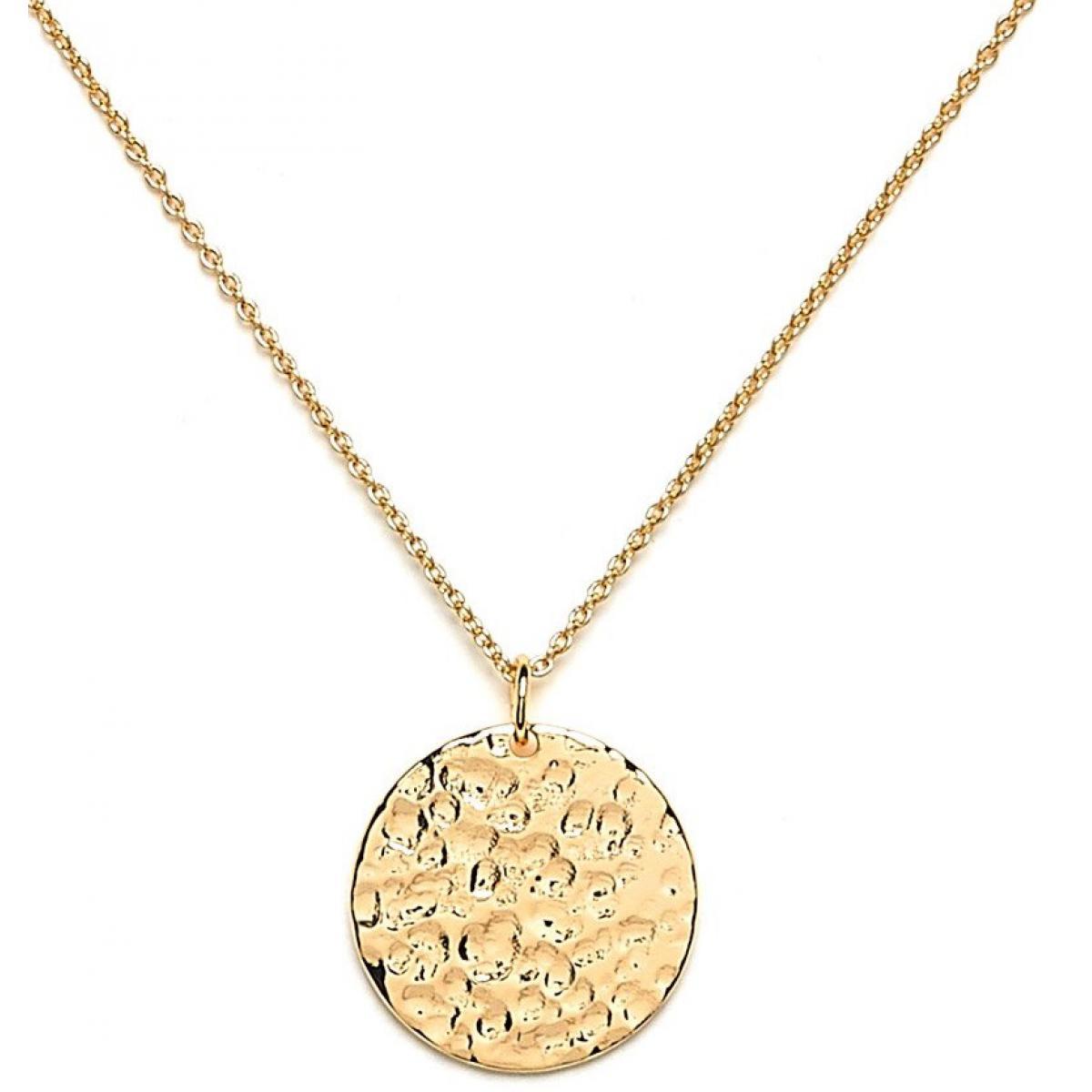 collier femme medaille
