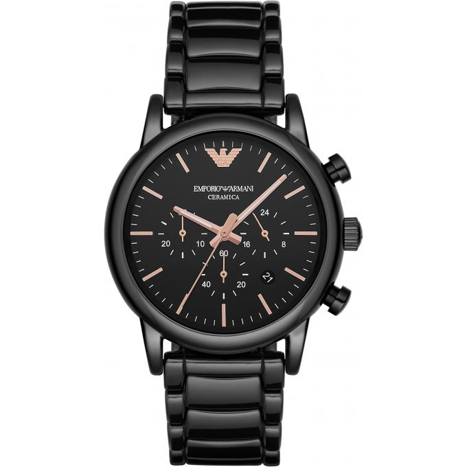 montre emporio armani ar1509 montre c ramique noire homme sur bijourama montre homme pas. Black Bedroom Furniture Sets. Home Design Ideas