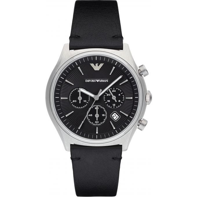 Montre emporio armani ar1975 montre quartz chronographe - Montre emporio armani homme pas cher ...