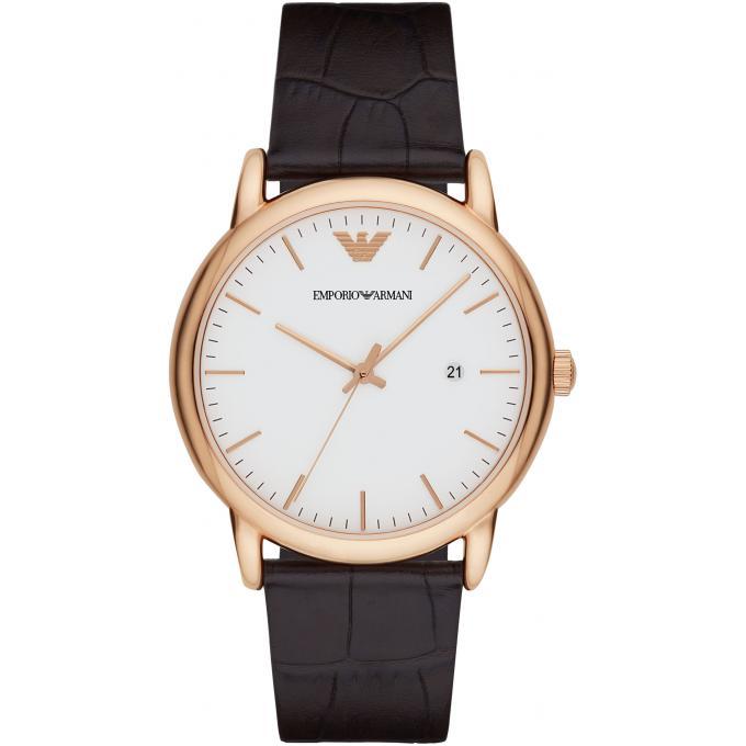 Montre emporio armani ar2502 montre cuir dateur homme - Montre emporio armani homme pas cher ...