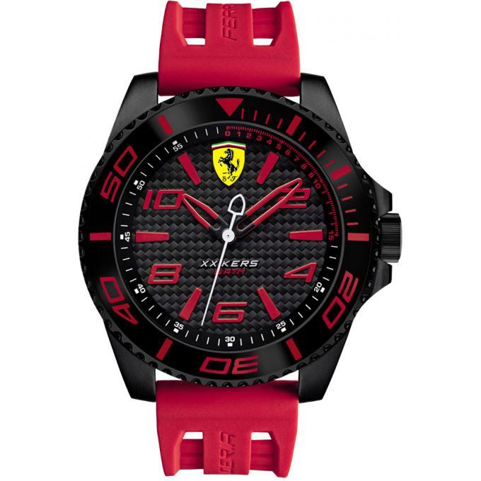 montre ferrari xx kers 0830308 montre index rouges homme sur bijourama montre homme pas cher. Black Bedroom Furniture Sets. Home Design Ideas
