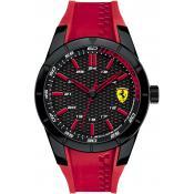 Montre Ferrari Montres Rouge Silicone 830299 - Rouge
