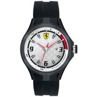 Montre Ferrari Montres 830001 - Montre Silicone Ronde Homme