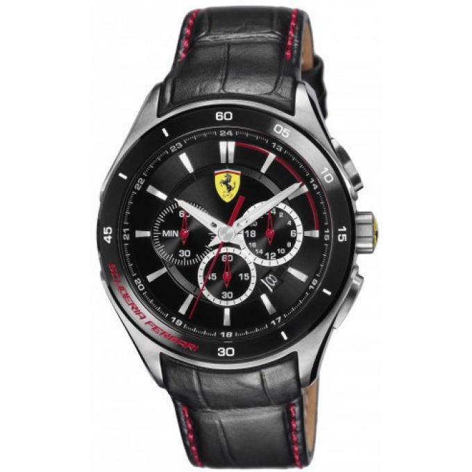 montre ferrari montres 830182 montre cuir noire homme sur bijourama n 1 de la montre homme. Black Bedroom Furniture Sets. Home Design Ideas