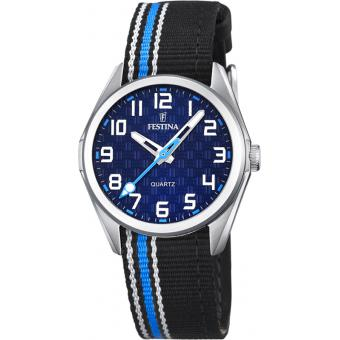 Montre FESTINA Junior F16904-2 - Montre Tissu Tricolore Junior