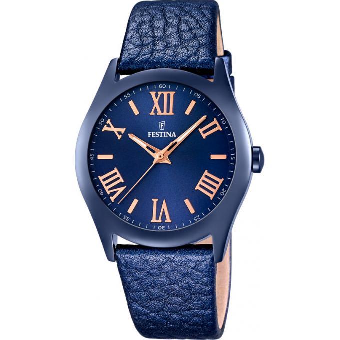 montre festina boyfriend f16649 5 montre acier bleue femme sur bijourama montre femme pas. Black Bedroom Furniture Sets. Home Design Ideas