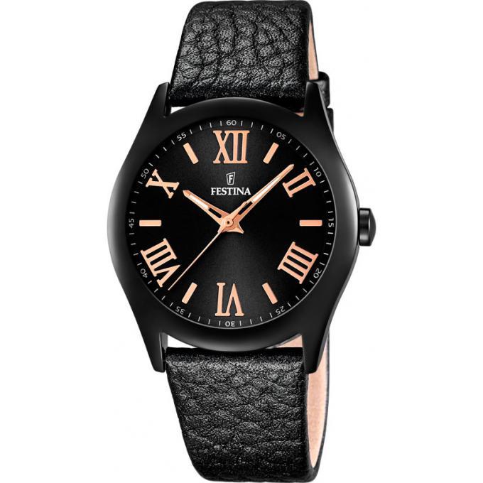 montre festina boyfriend f16649 9 montre acier noire femme sur bijourama montre femme pas. Black Bedroom Furniture Sets. Home Design Ideas