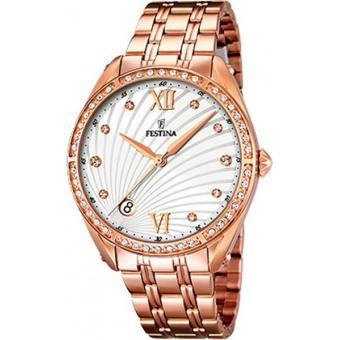 Montre FESTINA F16896-1 - Montre Or Rose Design Femme