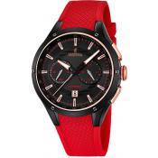 Montre Festina Rouge Chronographe F16833-1 - Rouge