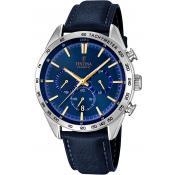 Montre Festina Bleue Chronographe F16844-2 - Nouveautes