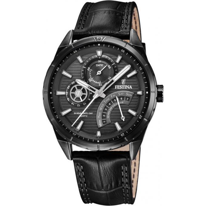 montre festina f16989 1 montre noire classique homme sur bijourama montre homme pas cher en. Black Bedroom Furniture Sets. Home Design Ideas