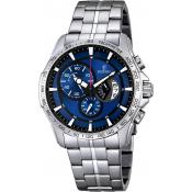 Montre Festina Chronograph F6849-3 - Montre Bleue Design Homme