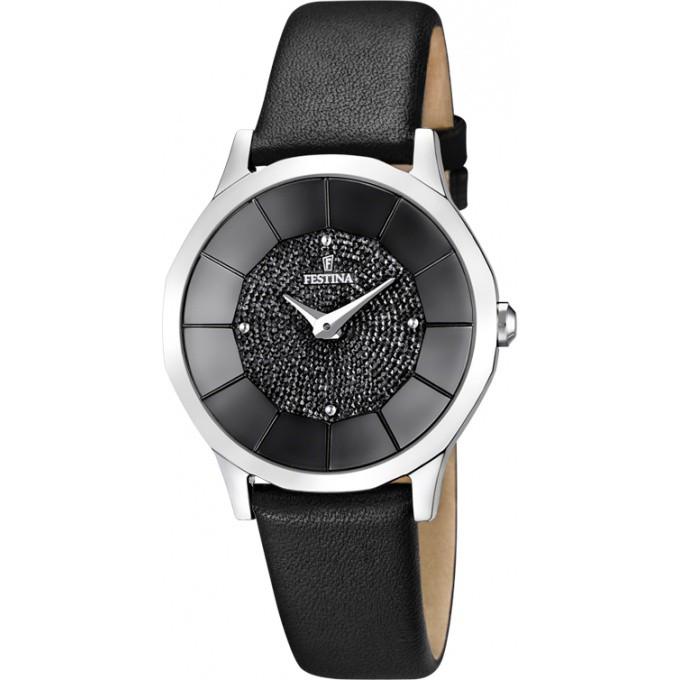 montre festina f16661 4 montre cuir noire strass femme sur bijourama n 1 de la montre homme. Black Bedroom Furniture Sets. Home Design Ideas