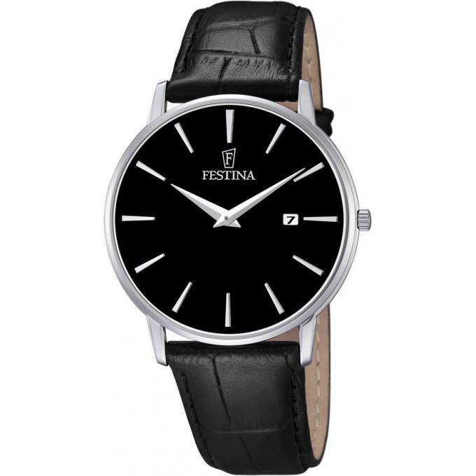 montre festina f6831 4 montre noire analogique homme sur bijourama montre homme pas cher en. Black Bedroom Furniture Sets. Home Design Ideas