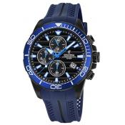 Montre Festina Originals F20369-2 - Montre Chronographe Dateur Bleu Homme