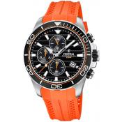 Festina - Montre Festina Originals F20370-4 - Montre Orange
