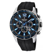 Montre Festina Originals F20376-2 - Montre Chronographe Dateur Noir Homme