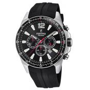 Montre Festina Originals F20376-3 - Montre Chronographe Dateur Noir Homme