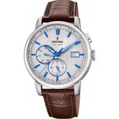 Montre Festina Timeless Chrono F20280-2 - Montre Quartz Cuir Marron Homme