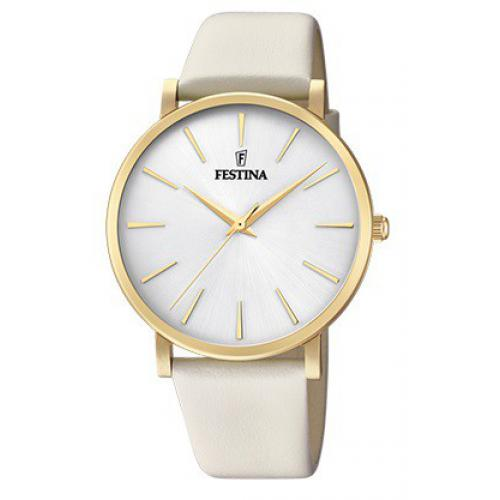 Festina - Montre Festina Boyfriend Collection F20372-1 - Montre Femme Cuir