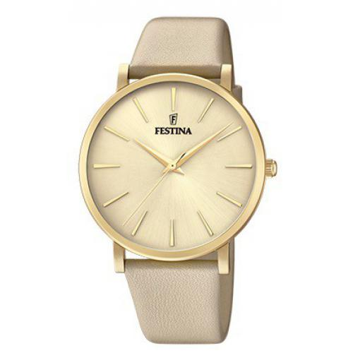 Festina - Montre Festina Boyfriend Collection F20372-2 - Montre Femme Cuir
