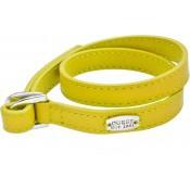 Bracelet Cuir Jaune & Pastille - Guess