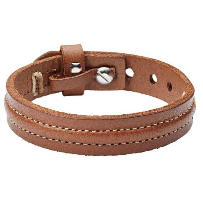 bracelet fossil bijoux ja6882040 bracelet cuir homme sur. Black Bedroom Furniture Sets. Home Design Ideas
