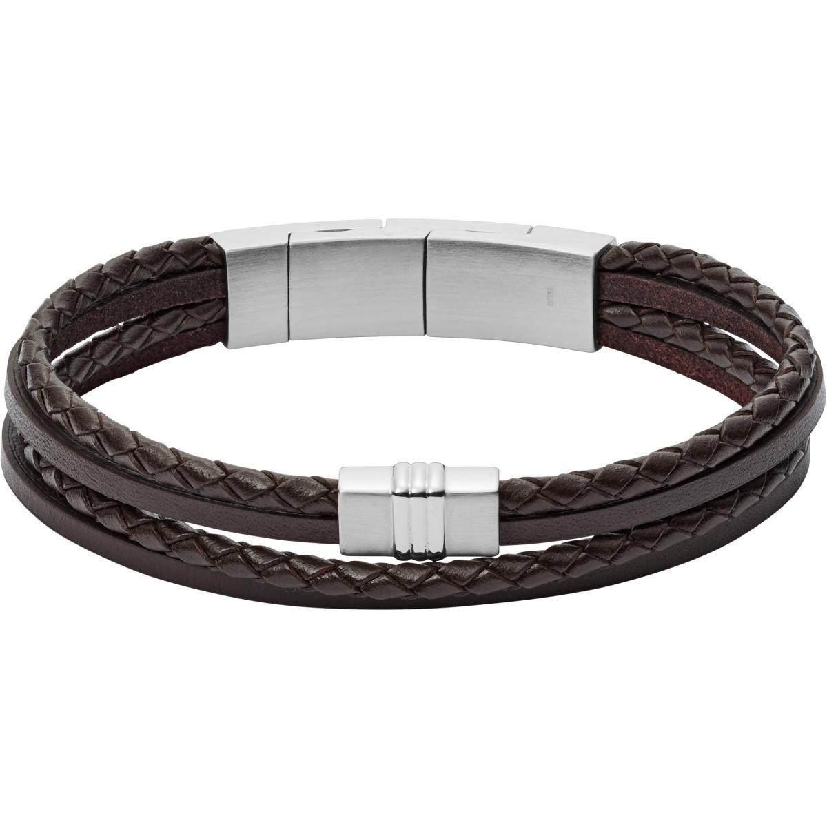 bracelet cuir homme brun