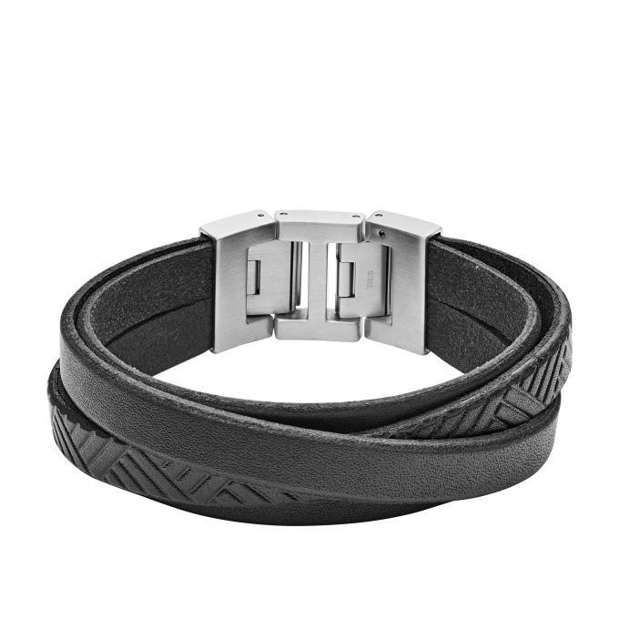 enfant classcic la qualité d'abord Bracelet Fossil Vintage Casual JF02998040 - Bracelet Acier Argent Homme  Plus d'infos