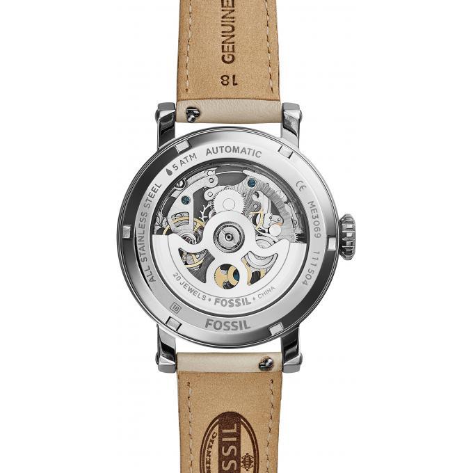 montre fossil the perfect boyfriend me3069 montre blanc cuir femme sur bijourama montre. Black Bedroom Furniture Sets. Home Design Ideas