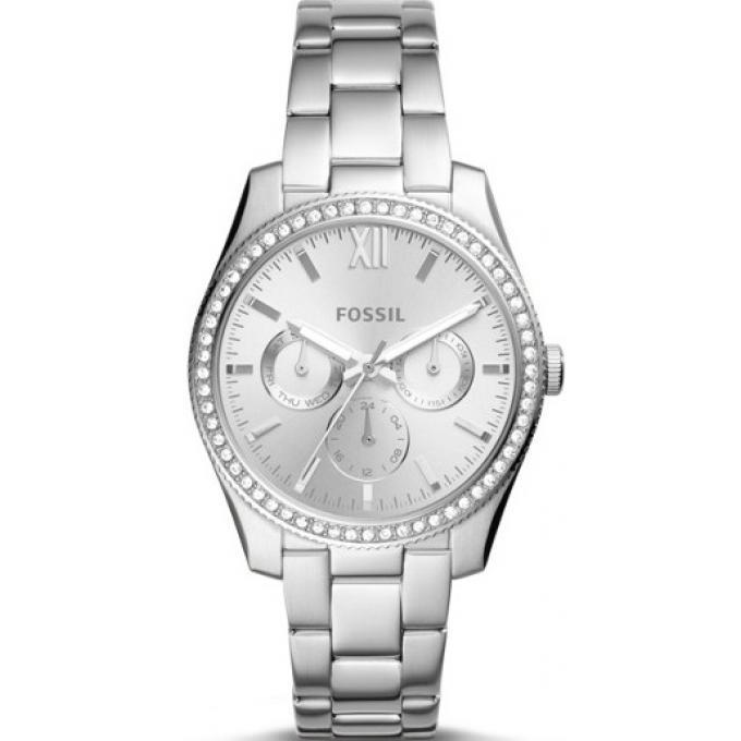 montre fossil es4314 montre scarlette strass acier argent femme sur bijourama montre femme. Black Bedroom Furniture Sets. Home Design Ideas