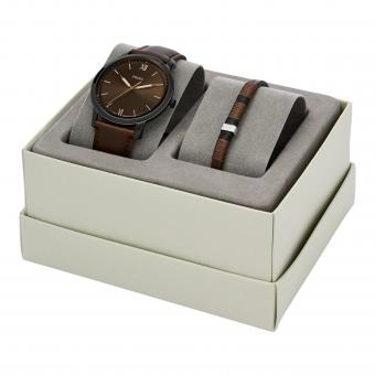 Fossil - Montre Fossil FS5557SET - Montre Fossil Cuir