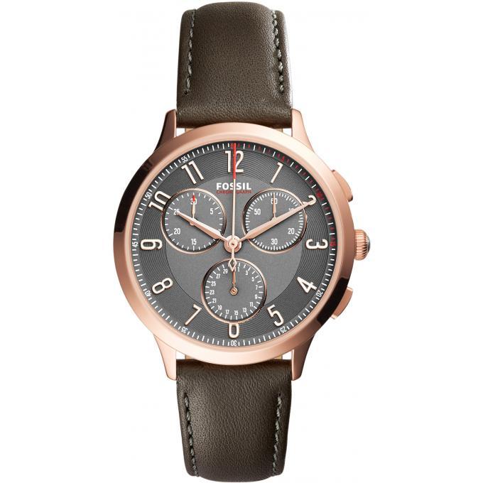 montre fossil abilene ch3099 montre chronographe boitier dor e femme sur bijourama montre. Black Bedroom Furniture Sets. Home Design Ideas