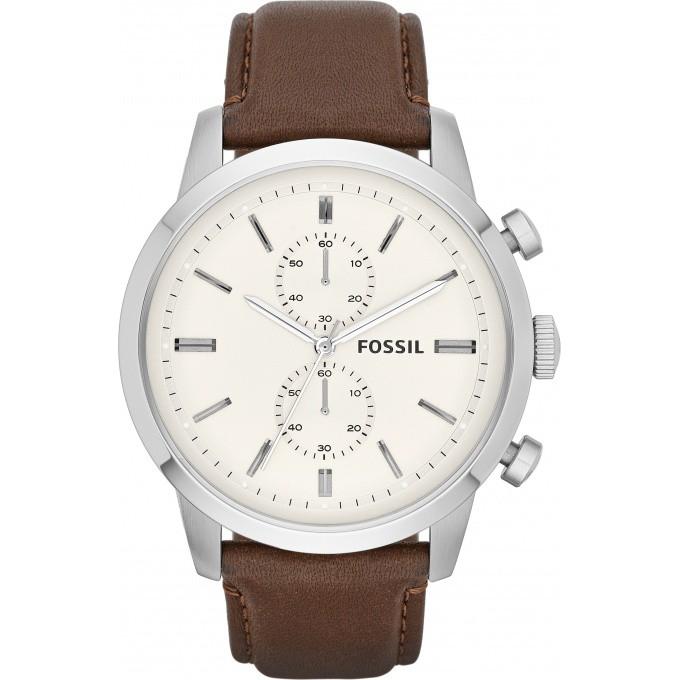 montre fossil fs4865 montre cuir marron chronographe homme sur bijourama n 1 de la montre. Black Bedroom Furniture Sets. Home Design Ideas