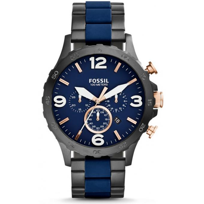 montre fossil jr1494 montre noire chronographe homme sur bijourama montre homme pas cher en. Black Bedroom Furniture Sets. Home Design Ideas