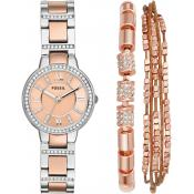 Fossil - Montre Fossil Virginia ES4137SET - Montre Fossil Femme
