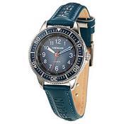Montre Freegun Cuir Bleue EE5181 - Bleu