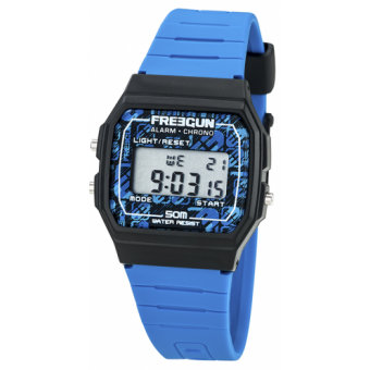 Freegun - Montre Freegun EE5205 - Montre Enfant - Bracelet Bleu