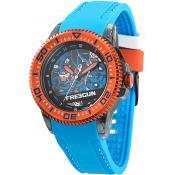 Montre Freegun Résine Orange EE5053 - Bleu