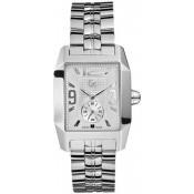 Montre GC Acier gris rectangulaire I19008G1